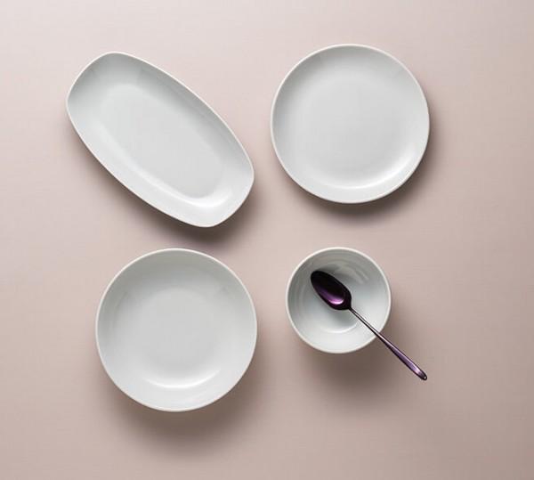 LEBON WHITE Design Tafelservice 27-teilig Porland