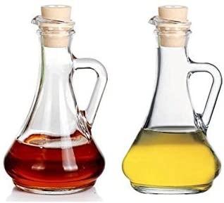 Pasabahce OLIVIA Essig und Öl Krug Flasche 2er Set 260 ml