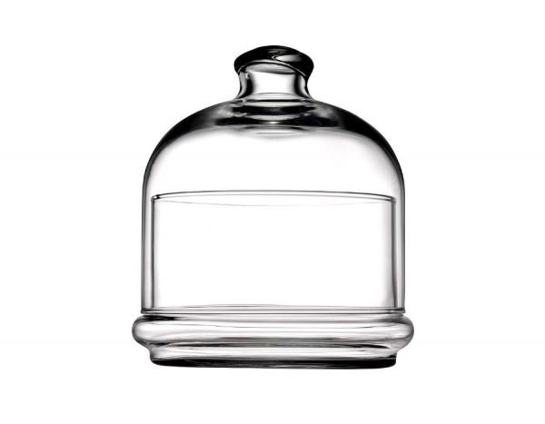 Pasabahce BASIC 96814 Glasschale mit Deckel 14x12 cm