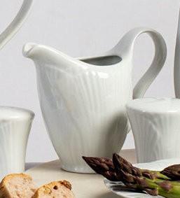 Milchkanne YAPRAK 230ml mit Blattdekor von Porland