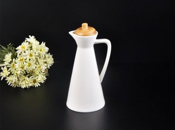 Ölivenöl Karaffe 450 ml Porzellan