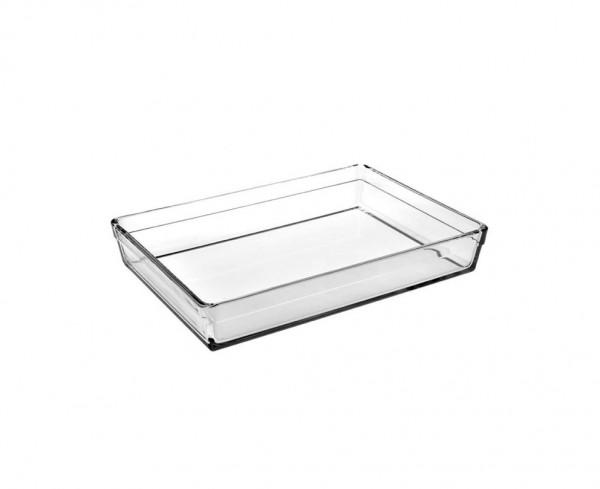 BORCAM PREMIUM 59324 Rechteckig Glas Auflaufform Backform 29x20x6 cm