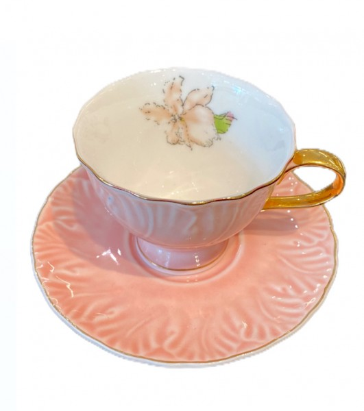 Matmazel Vintage Mokkatassen 6er Set Rosa